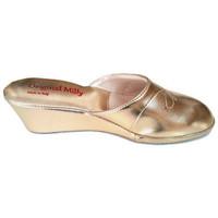 Chaussures Femme Sabots Original Milly PANTOUFLE DE CHAMBRE MILLY - 3000 OR Doré