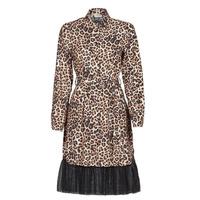 Vêtements Femme Robes courtes Liu Jo WA1218-T9147-T9680 Leopard