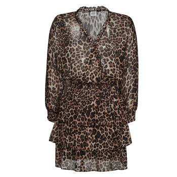 Vêtements Femme Robes courtes Liu Jo WA1530-T5059-T9680 Leopard