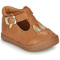 Chaussures Fille Ballerines / babies GBB ANINA Cognac