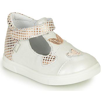 Chaussures Fille Ballerines / babies GBB EMILA Blanc