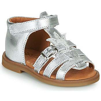 Chaussures Fille Sandales et Nu-pieds GBB CARETTE Argenté