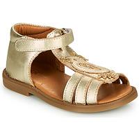 Chaussures Fille Sandales et Nu-pieds GBB FRANIA Doré