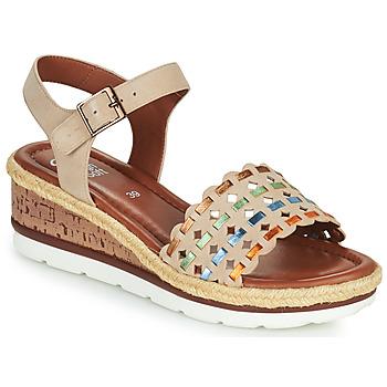Chaussures Femme Sandales et Nu-pieds Ara CADIZ-S Beige