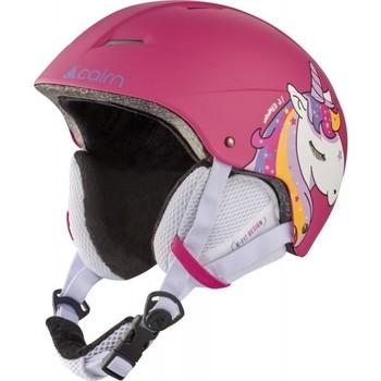 Accessoires Accessoires sport Cairn ANDROMED J Casque de ski Junior - Fuchsia Unicorn FUCHSIA UNICORN