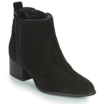 Chaussures Femme Boots Pepe jeans WATERLOO ICON Noir