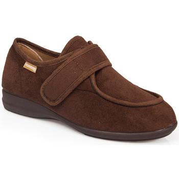 Chaussures Chaussons Calzamedi CHAUSSURES MOYENNES DOMESTIQUES ET / OU POSTOPÉRATOIRES 3081 BROWN