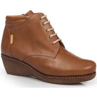 Chaussures Femme Bottines Calzamedi CHAUSSURES À TALONS  0711 BROWN