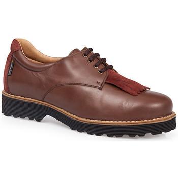 Chaussures Femme Derbies Calzamedi Chaussures  ADAPTABLE BROWN