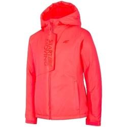 Vêtements Fille Vestes 4F JKUDN001 Rouge