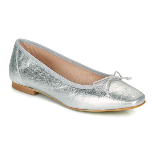 Chaussures Femme Ballerines / babies Betty London ONDINE Argenté