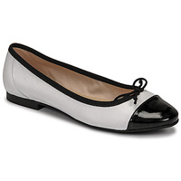 Chaussures Femme Ballerines / babies Betty London ONNO Blanc/noir