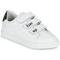 Chaussures Femme Baskets basses Bons baisers de Paname EDITH KISS ME Blanc