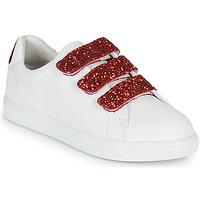 Chaussures Femme Baskets basses Bons baisers de Paname EDITH BACK LIPS Blanc