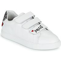 Chaussures Femme Baskets basses Bons baisers de Paname EDITH SWEET HEART Blanc