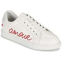 Chaussures Femme Baskets basses Bons baisers de Paname SIMONE AMOUR Blanc