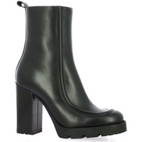Chaussures Femme Boots Nuova Riviera Boots cuir Noir