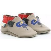 Chaussures Garçon Chaussons Robeez 822850 gris