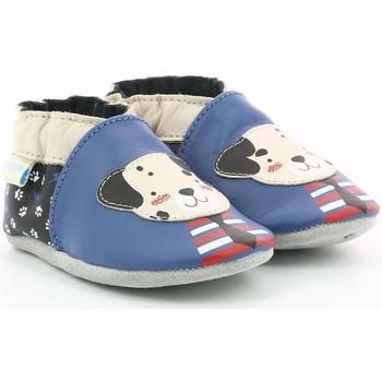 Chaussures Garçon Chaussons Robeez 822960 bleu