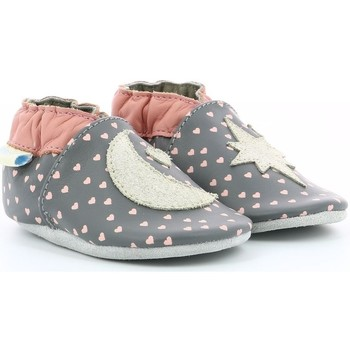Chaussures Fille Chaussons Robeez 822720 gris