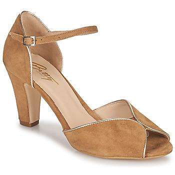 Chaussures Femme Sandales et Nu-pieds Betty London ORAD Camel