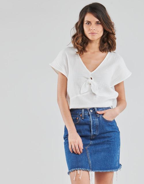 Vêtements Femme Tops / Blouses Betty London ODIME Blanc