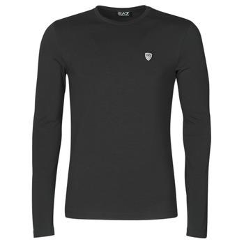 Vêtements Homme T-shirts manches longues Emporio Armani EA7 8NPTL9-PJ03Z-1200 Noir
