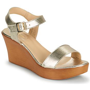 Chaussures Femme Sandales et Nu-pieds Betty London CHARLOTA Doré
