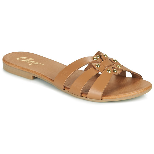 Chaussures Femme Mules Betty London OISO Camel