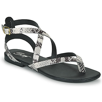Chaussures Femme Sandales et Nu-pieds Betty London OPALACE Gris
