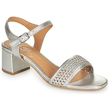 Chaussures Femme Sandales et Nu-pieds Betty London OUPETTE Argenté