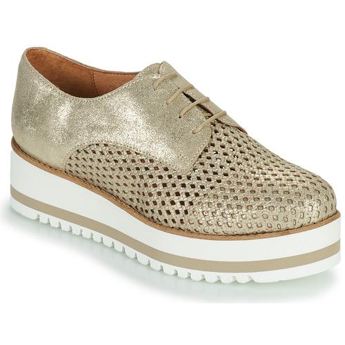 Chaussures Femme Derbies Betty London OULOUNE Doré