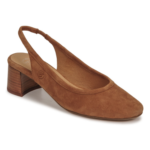 Chaussures Femme Escarpins Betty London OMMINE Cognac