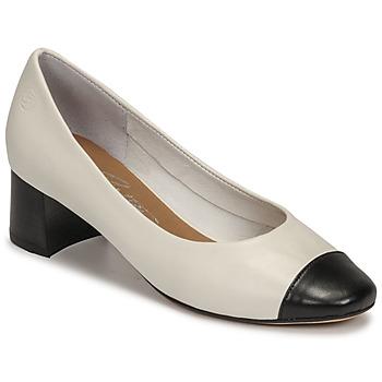 Chaussures Femme Escarpins Betty London OMINA Blanc/noir