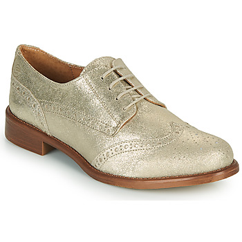 Chaussures Femme Derbies Betty London CODEUX Doré