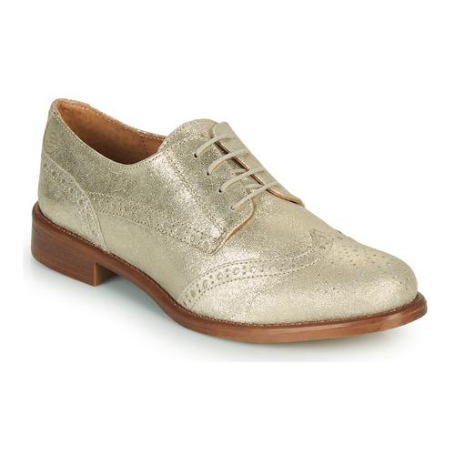 Chaussures Femme Derbies Betty London CODEUX Doré