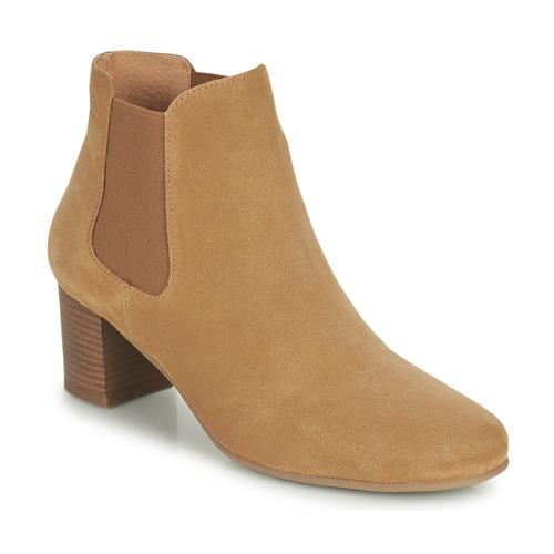 Chaussures Femme Bottines Betty London OKARI Camel