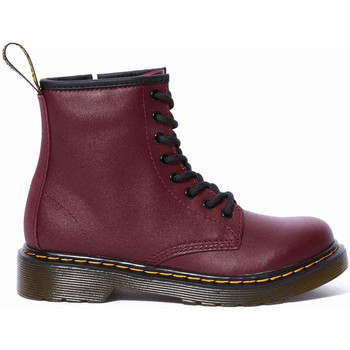 Chaussures Femme Bottines Dr Martens 1460 JUNIOR SOFTY T Rouge