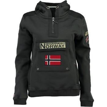 Vêtements Garçon Sweats Geographical Norway GYMCLASS Gris