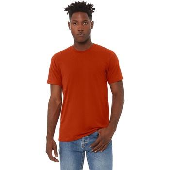 Vêtements Homme T-shirts manches courtes Bella + Canvas Triblend Orange