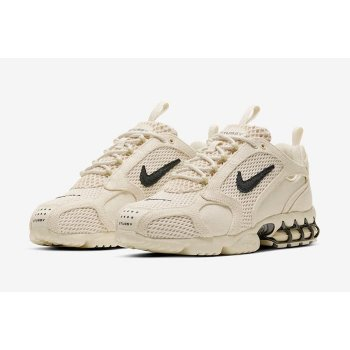 Chaussures Baskets basses Nike Zoom Spiridon x Stussy Fossil Fossil/ BLack