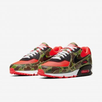 Chaussures Baskets basses Nike Air Max 90 Reverse Duck Camo Infrared/Black/Duck Camo