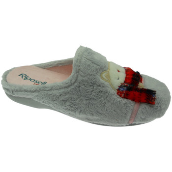 Chaussures Femme Chaussons Riposella RIP4592gr grigio