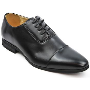 Chaussures Homme Richelieu Uomo Design Richelieu à bout rapporté noir