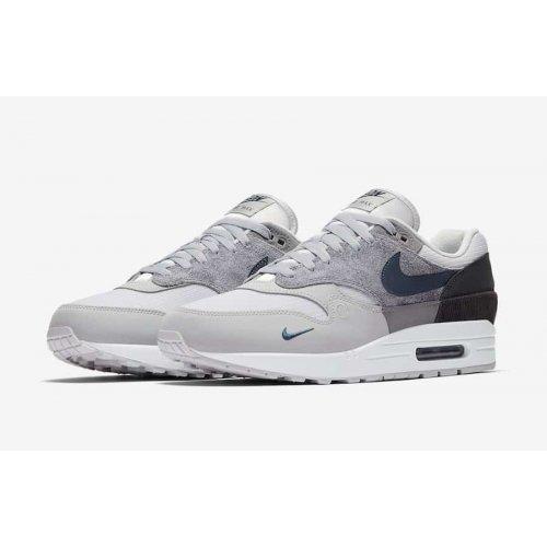 Nike Air Max 1 London Smoke Grey/Valerian Blue/DK Smoke Grey ...