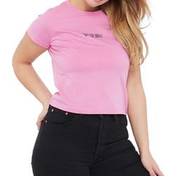 Vêtements Femme T-shirts manches courtes Vans VN0A4DNJUNU1 Rose