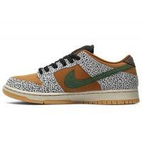 Chaussures Baskets basses Nike SB Dunk Low Safari Neutral Grey/Kumquat-Desert Ochre