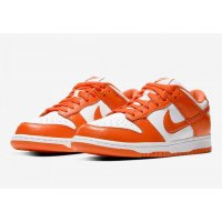 Chaussures Baskets basses Nike SB Dunk Low Syracuse White/Orange