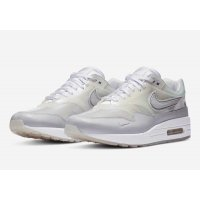 Chaussures Baskets basses Nike Air Max 1 Sneaker Day White White/ Silver Metallic