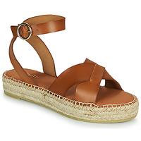 Chaussures Femme Sandales et Nu-pieds Minelli TRONUIT Marron
